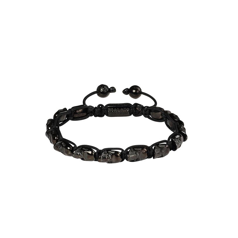 Nialaya Flatbead bracelet - Black 106alQ9